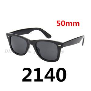 레트로 디자이너 컬러 필름 2140 선글라스 패션 운전 남성 여성 선글라스 빈티지 풀 패키지 28 컬러 50mm