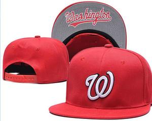 2020 Toptan Washington Ayarlanabilir Nationals Snapback Şapka Açık Yaz Erkekler Basketbol Güneş saçakları Ucuz Kadınlar Casquette Cap 00 Caps