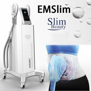 El más reciente EMSlim HI-EMT Estimular equipos músculos ems máquina de adelgazamiento forma de las nalgas Liting nave libre de DHL del CE