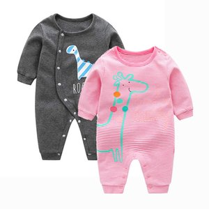 INS Popular Childrens Clothing Baby Clothes Spring and Autumn Baby Single Layer Jumpsuit Young Childrens Romper Clothing Manufacturers