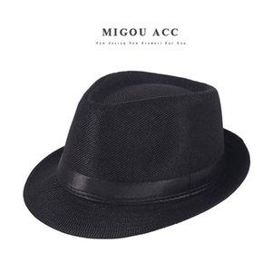 İlkbahar Yaz Retro Erkek Şapka Fedoras Caz Ekose Şapka Yetişkin Bowler Şapkalar Klasik Sürüm chapeau