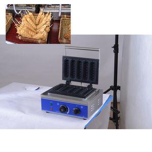 Ücretsiz Kargo 110V / 220V Ticari Elektrikli Waffle Sosis makinesi Fransız Hot Dog Lolly Çubuk Muffin Hot Dog Makinesi Izgara