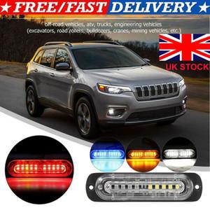 LED voiture Dash stroboscope flash Avertissement d'urgence Lampe de police Ampoules multi-couleurs