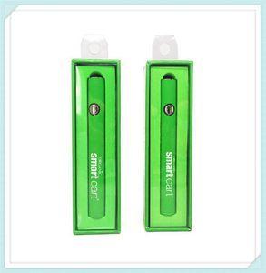 Smart Carts Preheat Battery 380mAh Variable Voltage VV Battery Charger Vape Pen Kit Best for 510 Thread SmartCart Cartridge