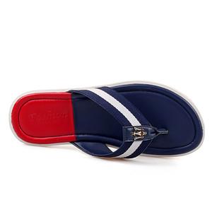 Summer Beach Massage chancletas de los zapatos de los hombres de goma sandalias de los hombres de calidad superior masculino Zapatilla, al aire libre cubierta flip-flops