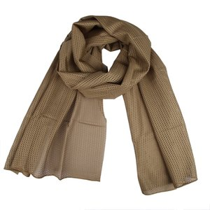 Cheap Scarves Camo Mesh Scarf Outdoor Jungle Muffler Breathable Headband Tactical SS Scarves Sports & Entertainment