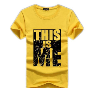Ropa de la marca de los hombres T-Camisa Swag de algodón para hombres Imprimir hombre T-shirt Homme fitness Camisetas de Hip Hop camiseta masculina del tamaño S-5XL