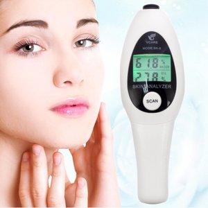 Precision Skin Analyzer Цифровой ЖК-дисплей для лица Skin Body Moisture масло метр тестер Анализ Уход за кожей лица инструмент