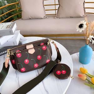 spalla del progettista femminile del sacchetto di marca sacchetto tre-in-one design mini delle donne di alta qualità del sacchetto 24 * 13 CM borsa del progettista della moneta