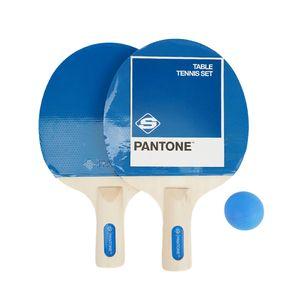 2pcs Beginer Short Handle Table Tennis Pingpong Racket Paddle Bat with 3 balls combo set