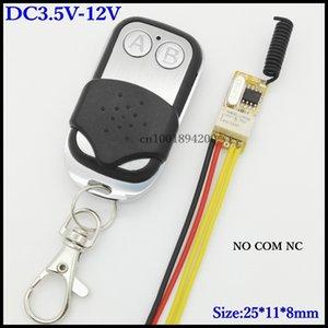 Access Control System Remote Control Switches Relay Receiver COM NO NC Micro Small Wireless Conroller DC 3.7V 5V 6V 7.4V 9V 12V T200605