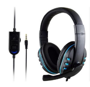 2020 Yeni Creative Moda Gaming Headset Stereo Surround Kulaklık 3.5mm Kablolu Mikrofon İçin PS4 Dizüstü Xbox One