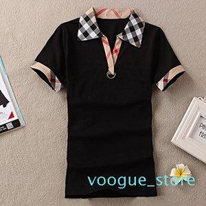 Mujeres Inglaterra diseño camisas de marca Camiseta del verano de las mujeres del estilo de las tapas ocasionales camiseta de algodón de manga corta camiseta JH01