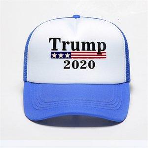 Unisexe Trumpisher2020 mode Baseball Sandwich Hat Blank Truck Driver mignon Cap Trumphair Trump cheveux Punisher Logo Skull Shaped Trump # 913