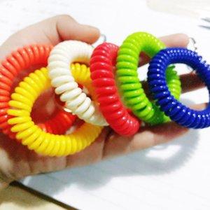 المعصم لفائف المعصم سلسلة المفاتيح الملونة سلسلة تمتد مفتاح للرياضة، بركة، ID شارة