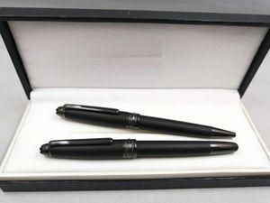 Wakaka 163 de Metal Ultra Black clipe caneta esferográfica rolo transporte Ball Pen gratuito