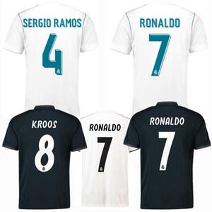 uzaklıkta 17/18/19 futbol forması Retro klasik Üst 2017 2018 2019 Real Madrid futbol forması ISCO Sergio Ramos ev