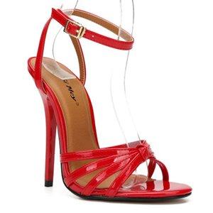 Hey Si Mey alta qualità di nuovo Large Size Slim con tacco 13 centimetri europee e Lady sandali di donne americane Shoes Plus Size 37-48