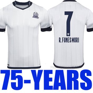Мексиканский клуб Rayados Монтеррей celeberates футбол Джерси 75-летие 75 лет футбол рубашка высокое качество Таиланд