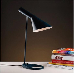 Candeeiros de mesa cor para quarto Option.Europe AJ Desk Lamp Café Aisle Hall Leia as luzes LED bulbo E27