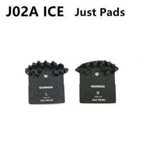 1 par SHIMANO J02A Pads DEORE XT SLX DEORE J02A aleta de enfriamiento de hielo Tech pastillas de freno MTB M785 M675 M7000 M8000 M9000 M9020 M6000