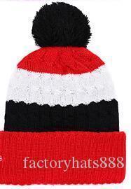 2019 cappello unisex Autunno Inverno Sport Cappello di lana su misura protezione lavorata a maglia Sideline Cold Weather Cappello di lana caldo SAN FRANCISCO SF 49 Beanie Calotta 05