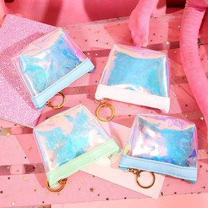 Transparent Coin Purses Women Wallets Small Cute Card Holder Money Mini Bag Girls Ladies Purse Fashion Key Pouch CT0269