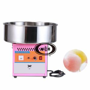 Электрический Cotton Candy Изготовление формовочной машины Хлопок Сахар зубочистка конфета Maker Fancy Art Candy Cloud Party для ресторанов