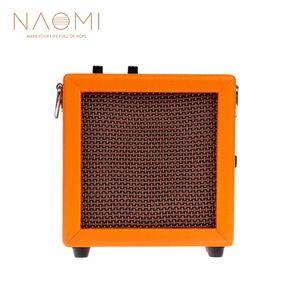 NAOMI Amplifikatör Mini Amp Amplifikatör Hoparlör Için Akustik / Elektro Gitar Ukulele Yüksek Hassasiyet 3 W Gitar Parçaları Akse ...
