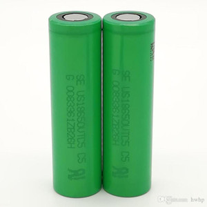 100pcs 100% de alta qualidade para SONY VTC5 18650 bateria 2600mAh IMR 3.7V para LG SONY Samsung recarregável de lítio Baterias celular