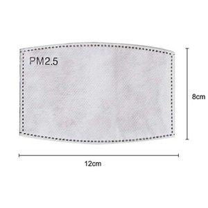 Maschera monouso filtro PM 2,5 Carboni 5 strati pastiglie per il viso di protezione maschera forniture per i bambini maschera per adulti FFA3932-2