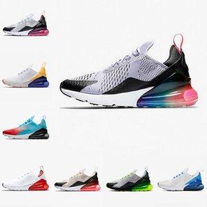 2020 Nike Air Max 270 shoes New airmax Vapormax 270 corrientes de 270S Tamaño CNY arco iris del talón Trainer Road Star BHM Hierro Mujeres 27C zapatillas de deporte 36-45