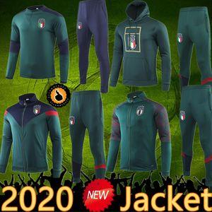 2020 Italia Chaqueta Traje Traje Traje Sportswear Futbol Camisa Totti Pirlo Insigne del Piero Soccer Jerseys Italia Fútbol Camiseta