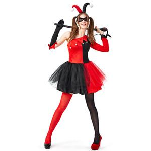 2019 Fashion Women Halloween Cosplay Pirate Clown Zombie Decadence Dark Ghost Bridal Styling Nightclub Princess Christmas Dress Clothing