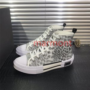 xshfbcl 2020 B23 Oblique High Low Top Sneakers Obliques Technical Leather 19SS Flowers Technical Outdoor Casual Shoes Technical Leather