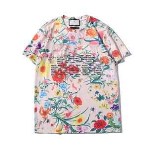 2019 뜨거운 판매 T 셔츠 인쇄 패턴 여성 짧은 소매 셔츠 여성 탑 Streetwear 패션 조 수 브랜드 여성 t 셔츠