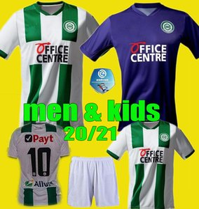 2020 2021 FC Groningen robben soccer jerseys home away Groningen Deyovaisio Zeefuik Daishawn Redan football shirts 20 21 top men kids kits