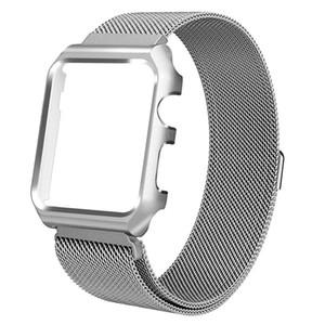 Нержавеющая сталь магнитная сетка ремешок ремешок для Apple Watch серии 1/2/3/4 SANWOOD