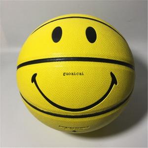 Нового горячего Классического Стиль люкс Баскетбол Обучение высокого качества улыбка шаблон шарик мода шаблон баскетбол Бесплатная доставка