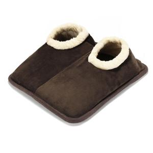 220V ajustable del pie del calentador del calentador eléctrico de invierno zapatos caliente de calefacción zapatillas para computadora de oficina Sofá