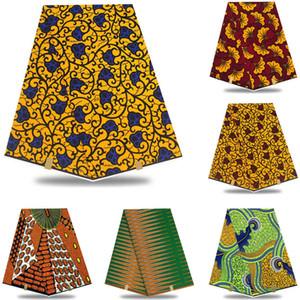 Prix de gros! 2019 meilleure qualité !! véritable cire réel hollandais cire hollandais, tissu imprimé africain 100% coton Nigeria! LP1548 SH190925