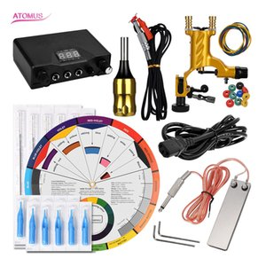 Cartridge Professional Rotary Machine Kit Motor Tattoo Machine Gun Pen Liner And Shader Body Art Complete Set Professional Kits Kit