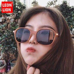 LeonLions Quare Солнцезащитные очки Женщины Ретро солнцезащитные очки для женщин Зеркальные солнцезащитные очки в стиле ретро Feminino