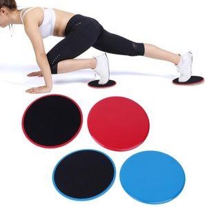 2ST Übung Sliding Gliding Discs Yoga Fitness Bauchtrainer Core-Slider Gliding Discs Yoga Training Exercise