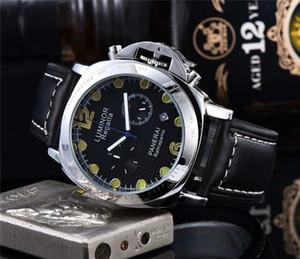 Hot top marca 45mm de diâmetro quartzo relógios movimento do ponteiro cheia de luxo de moda trabalho requintados presentes relógios dos homens