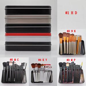 Hot marchio trucco Pennelli trucco 12pcs pennello correttore ombretto Fondazione arrossisce Brushs professionali Strumenti di trucco di trasporto del DHL
