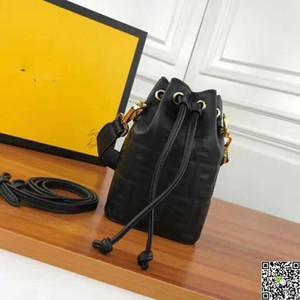 Toppest Qualidade Lampskin bolsas de Couro genuíno Mini Mensageiro Longo Designer de Ombro Cores Fshional Saco balde