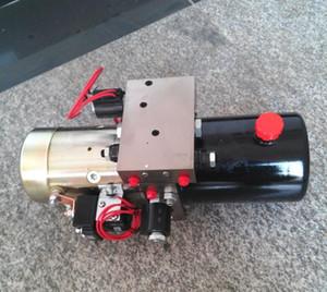 1.5KW 12V الهيدروليكية التعبئة السلطة الثلوج محاريث وحدة الطاقة الهيدروليكية الصغيرة المحركات والعتاد ضخ جودة عالية حر shinpping