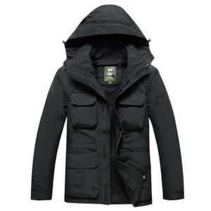 Beiläufige Art und Weise Design für Männer Jacke der Männer lange Multi-Tasche Herbst-Jacke im Freien Militär-Qualitäts-Jacken-freies Verschiffen
