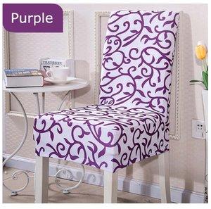 Бесплатная доставка 1 шт. / упак. стрейч съемный обеденный стул крышка комнаты стул печати эластичный складной чехол плоское сиденье крышка стула